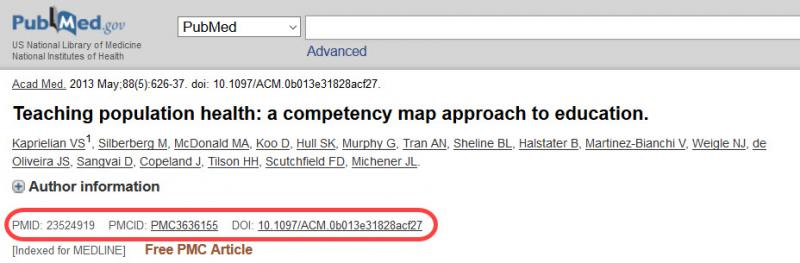 PubMed Article